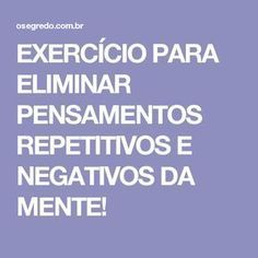 Exercicios da mente
