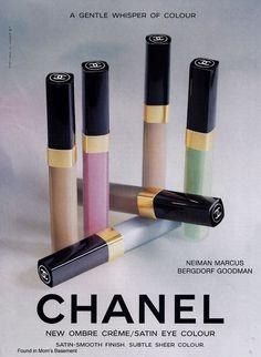Found in Mom s Basement  Vintage Cosmetics Perfume Toiletries Advertising  Chanel Creme, Coco 071b67fcf11e