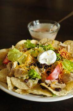 Chicken Nacho Salad~
