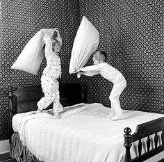 Pillow fights...