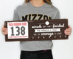 Running Medal Holder & Race Bib Hanger - The Miracle