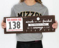 Running Medal Holder & Race Bib Hanger - The Miracle