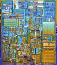 Inte®l Pentium® 4 Processor with an initial clock speed: 1.5 GHz; number of transistors: 42 Million; Circuit Line Width: 0.18 micron; production on 8 inch (200mm) wafers. (2000)