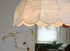 Handmade felt lamp by Marjolein Perin