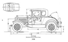 32 ford frame dimensions