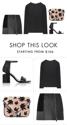 """""""Untitled #3929"""" by michelanna ❤ liked on Polyvore featuring Alexander Wang"""
