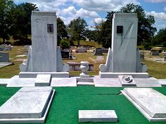 Grave Markers- Hank, Sr. & Audrey Williams
