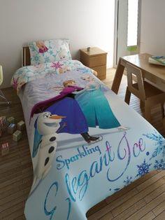 Bedsheets Set FROZEN - 2 flat sheets 170X260 + pillowcase