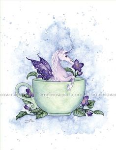 Enchanted Tea by Amy Brown