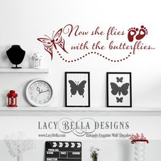 """""""Now she flies with the butterflies"""" www.lacybella.com 