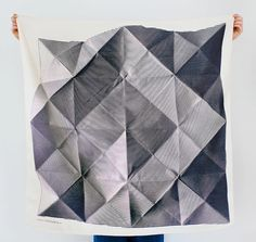 "Gather Journal — ""Folded Paper"" Japanese Furoshiki Wrap by LINK"