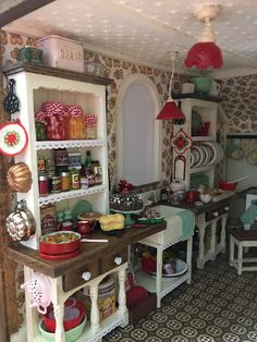 2381 best miniature kitchen accessories images in 2019 dollhouses rh pinterest com