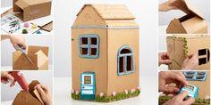 Kartondan Maket Ev Yapımı Anlatımlı Ölçüleri Ve Tarifi