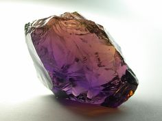 Ametrine is an extremely energetic stone. It is a combination of Amethyst and Citrine and is believed to ease pain, encourage emotional well-being, increase creativity and to improve mental focus.