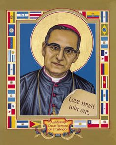 March 24 Oscar Arnulfo Romero, Bishop of El Salvador, martyr, died 1980  Romero was deeply concerned with injustices evident toward the poor and powerless in El Salvador, and worked forthrightly against political repression. He was assassinated while presiding at the eucharist in a chapel near the cathedral in San Salvador.