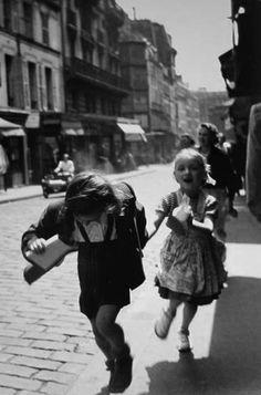 Paris 1951, rue des martyrs