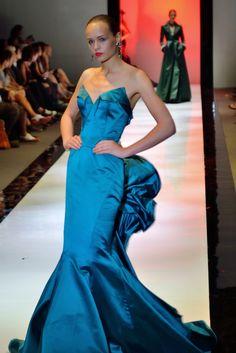 www.fashion2dream.com New fashion  designs from Zac Posen Catwalk Fashion Show