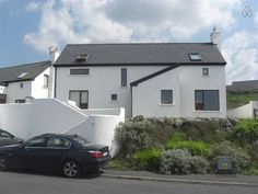 Lahinch home. Golf and sea views. - Houses for Rent in Lahinch, Clare, Ireland Renting A House, All Modern, Shed, Outdoor Structures, Mansions, House Styles, Outdoor Decor, Ireland, Golf