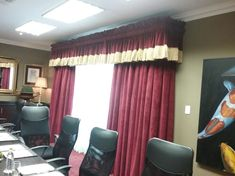 Boardroom Decor, Boardroom, Curtains, Stage Curtains, Home Decor
