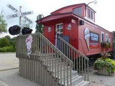 Days Out Ontario | Moser's Ice Cream Caboose, St Jacobs, Ontario