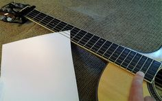 Maintenance Photos - Acoustic Guitar Care 101