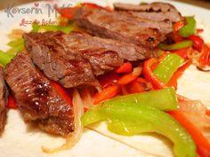 Fajita Recipe | Turkish Style Cooking