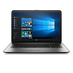 "2017 Newest Flagship Model HP 17.3"" Premium High Performance HD+ WLED-Backlit Laptop, Intel Core i3-5005U, 6GB RAM, 1TB HDD, Windows 10   see more at  http://laptopscart.com/product/2017-newest-flagship-model-hp-17-3-premium-high-performance-hd-wled-backlit-laptop-intel-core-i3-5005u-6gb-ram-1tb-hdd-windows-10/"