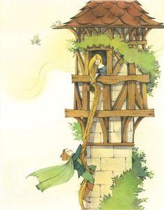 Rapunzel - Fairy Tales for Bedtime by Nathalie Ragondet