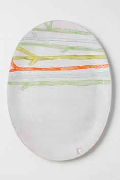 Lone Reed Serving Platter #anthropologie