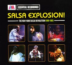 Various: Salsa Explosion – The New York Salsa Revolution 1968 to 1985 (LP sleeve edition)
