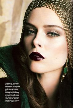 Coco Rocha for  Vogue Mexico, September 2010 by Tesh