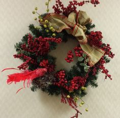 Beautiful wreaths & arrangements created by our in-house designer --each one is one of a kind!