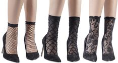 Emilio Cavallini SS18 Collection: Tights Patterned Socks  For our last look through Emilio Cavallini's new spring/summer collection we're having a look at some of their new socks which have some classic  tights patterns!   These minimal net ankle socks are like classic net  tights, with a tight woven pattern that shows through to your skin. Shop here: ...