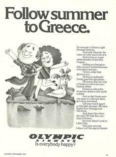 Olympic Airways Σεπτέμβριος 1973
