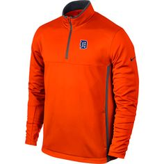 Detroit Tigers 1/2-Zip Therma-FIT Cover-up by Nike Golf - MLB.com Shop