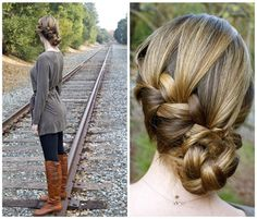 10 Minutes to Style Holiday Hairstyles with 18 Inch Hair Extensions