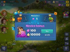 Adventure Era - Level Up - UI HUD User Interface Game Art GUI iOS Apps Games