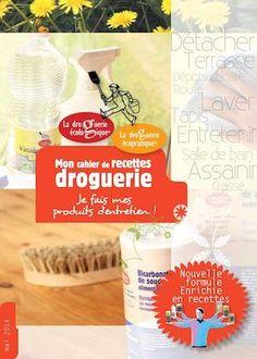 Brochure Droguerie Version 2014- PRODUIT NATUREL UTILISATION - PERCARBONATE-BICARBONATE-SAVON NOIR - CRISTAUX DE SOUDE - ETC ....