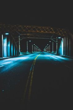 Midnight city drive. Empty streets, cool breeze, and loud music blasting in my ear. #nightphotography