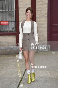 Hanneli Mustaparta arrives to attend the Maison Martin Margiela show... News Photo 451896406