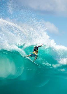 "wslofficial: ""Three weeks… 2015 Quiksilver Pro Gold Coast Surfer | Mitch Crews Photo | Corey Wilson | wslofficial"""