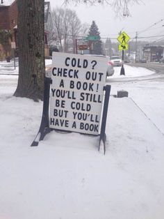 You'll still be cold...