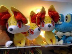 Pokemon Photos from Tokyo - Fennekin Lifesize Plushie at Pokemon Store Tokyo Station