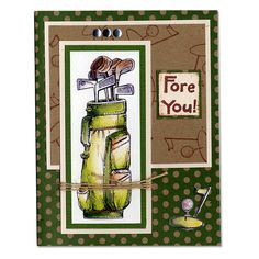 Father's Day Golf Card