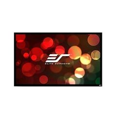 Elite Screens ezFrame2 Grey Fixed Frame Projection Screen Viewing Area: 1