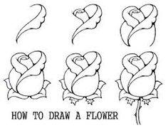 Bildergebnis für blumen zeichnen                              …