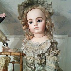Wonderful grand size Bru Jne. Bebe in all original condition .... France circa 1870 . Sold by WhenDr - whendreamscometrue