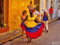 Palenqueras. Cartagena de Indias, Colombia