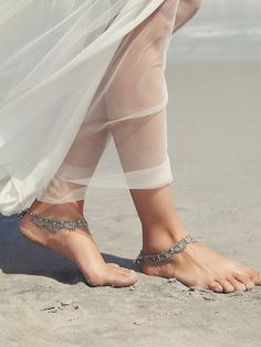 Free People Raindrops Anklet Set Pair of matching anklets featuring chain metal with charm detailing. Bell accents by the lobster clasp closure. *By Free People Free People Accessories Indian Aesthetic, Anklet Designs, Silver Anklets, Women's Anklets, Girl Photography Poses, Dainty Jewelry, Ankle Jewelry, Ankle Bracelets, Barefoot