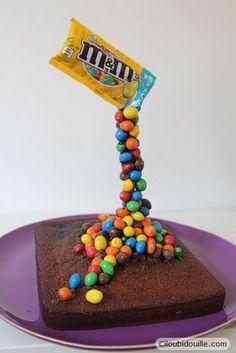 Faire un gravity cake (ou un gâteau suspendu) | Ciloubidouille